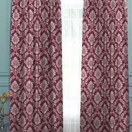 Риджина (бордо) 145*280 см — комплект штор