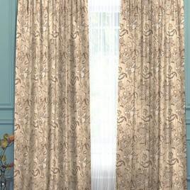 Тюдоры (беж) 145*280 см — комплект штор