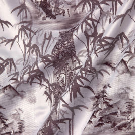 Бамбук (бордо) — ткань портьерная