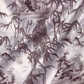 Бамбук (бордо) 145х280 см — комплект штор