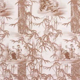 Бамбук (коричневый) 145х280 см — комплект штор