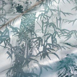 Бамбук (изумруд) — ткань портьерная