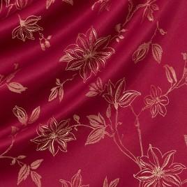 Корица (бордо) — ткань портьерная