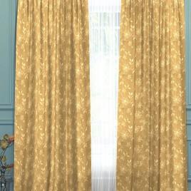 Корица (песок) 145*280 см — комплект штор