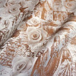 Легенда (коричневый) 145*280 см — комплект штор