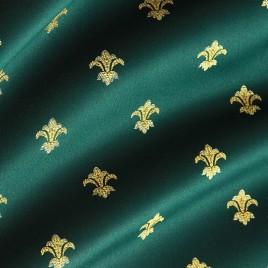 Лилия (изумруд) — ткань портьерная