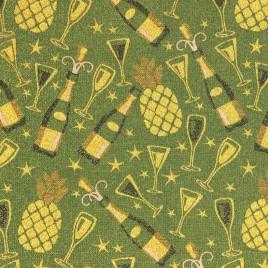 Шампань (зелёный) 150 см — ткань гобеленовая