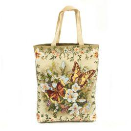 Солнечная бабочка (37х42 см) — сумка декоративная