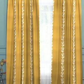 Арлон (золото) 145*280 см — комплект штор