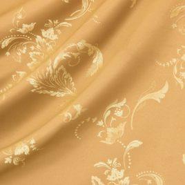 Ажурный лист (песок) 145*280 см — комплект штор