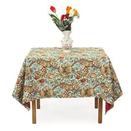 Бронзовая лилия (150х160 см) — скатерть декоративная