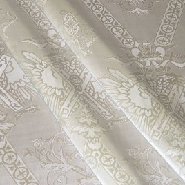 Державный (сливки) — ткань портьерная