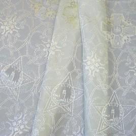 Георгиевский крест (сливки) — ткань портьерная