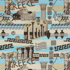 Греция 240 см — ткань гобеленовая