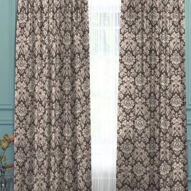 Калифорния (серый) 145*280 см — комплект штор