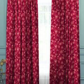Корица (бордо) 145*280 см — комплект штор