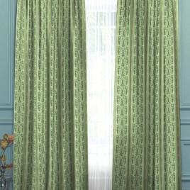 Кружева (морская волна) 145*280 см — комплект штор