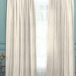 Латте (белый) 145*280 см — комплект штор