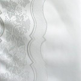 Лион (белый) — ткань портьерная