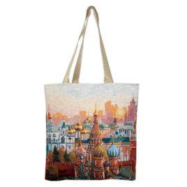 Москва (35х33 см) — сумка гобеленовая