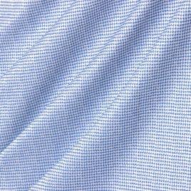 Пье-де-пуль (синий) 145*280 см — комплект штор