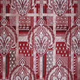 Раджа (бордо) — ткань портьерная
