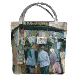 Союзпечать (39х42 см) — сумка декоративная