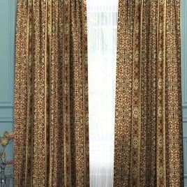 Верона (шоколад) 145х280 см — комплект штор