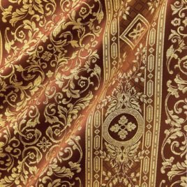 Верона (шоколад) — ткань портьерная