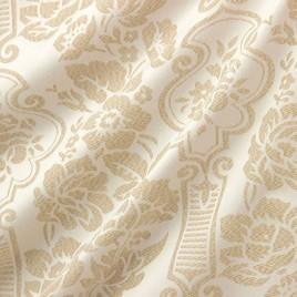 Виктория (белый/беж) — ткань портьерная
