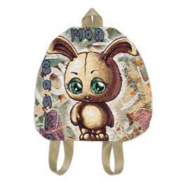 Зайка-Мишка (34х33 см) — рюкзак декоративный