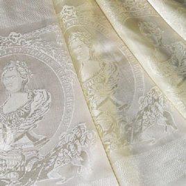 Екатерина II (сливки) — ткань портьерная