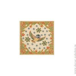 Лесная сказка (25х25 см) — салфетка декоративная