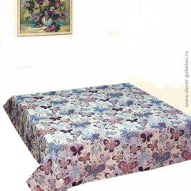 Мотылёк (150х120 см) — скатерть гобеленовая