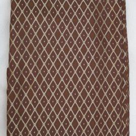 Сетка (шоколад) 145*280 см — комплект штор