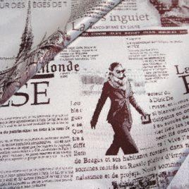 Газета (бордо) — ткань портьерная