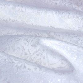 Венец (белый) — ткань портьерная