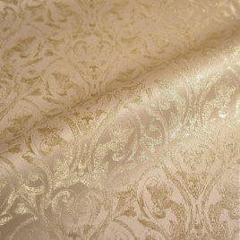 Венец (беж) — ткань портьерная