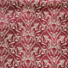 Венец (бордо) — ткань портьерная