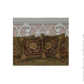 Версаль (лиловый) 45х45 см — наволочка декоративная
