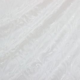 Диадема (белый) — ткань портьерная
