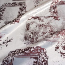 Галерея (бордо) 145х280 см — комплект штор