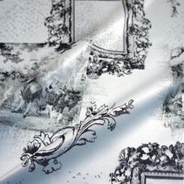 Галерея (чёрный) 145*280 см — комплект штор