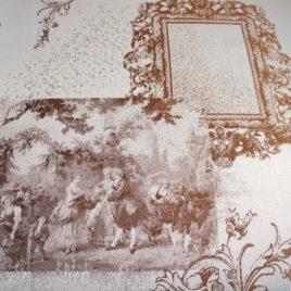 Галерея (коричневый) 145х280 см — комплект штор