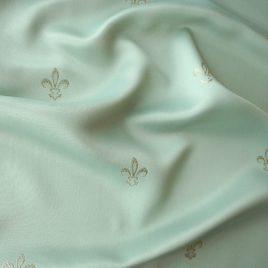 Крупная лилия (мята) — ткань портьерная
