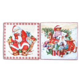 Подарки (36х36 см) — комплект салфеток 2 шт
