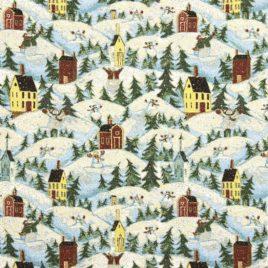 Рождественское настроение (250х220 см) — покрывало гобеленовое