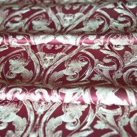 Диадема (бордо) — ткань портьерная