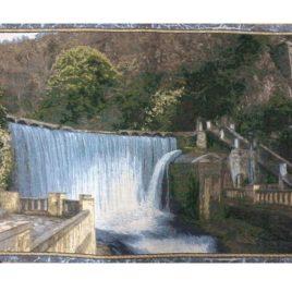 Водопад (75х49 см) — гобелен без рамки