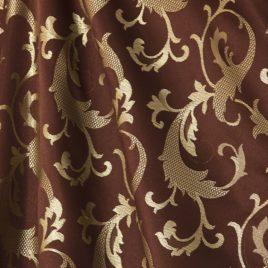 Амалия (шоколад) — ткань портьерная